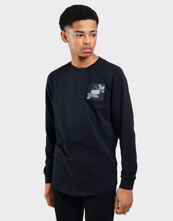 Rascal Long Sleeve Box Logo T-Shirt Junior