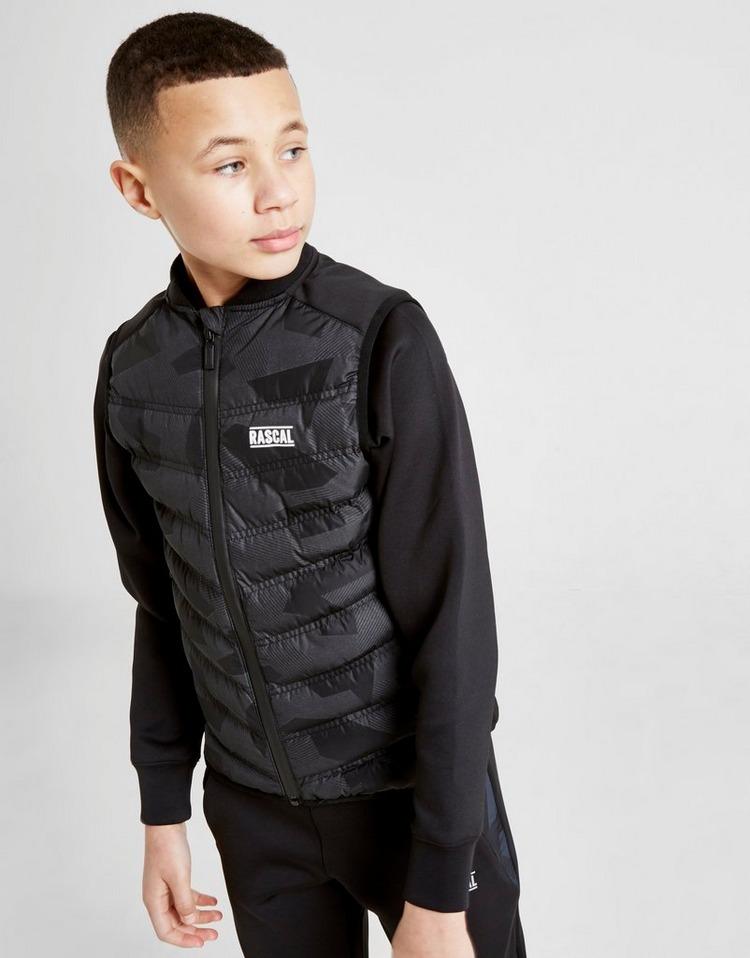 Rascal Dazzle Camo Vest Jacket Junior