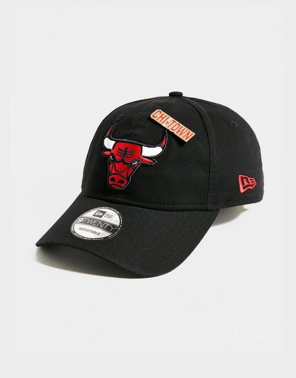 New Era NBA 9TWENTY Chicago Bulls Badge Cap