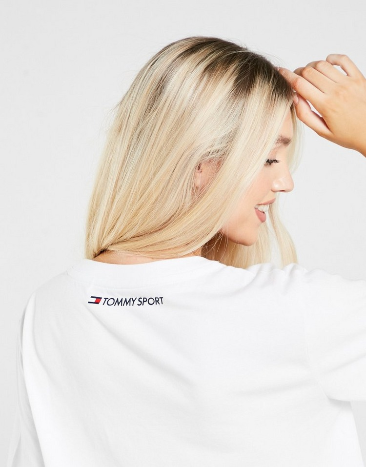 Tommy Hilfiger Logo Crop T-Shirt