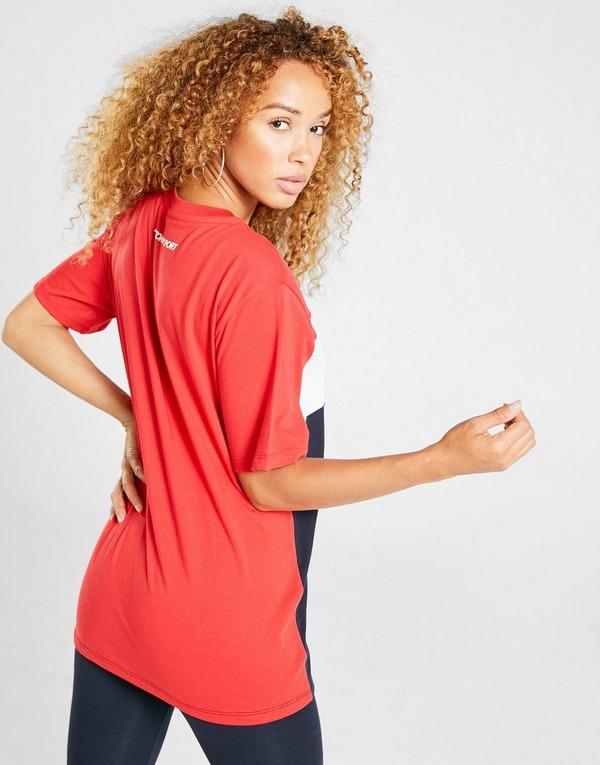 Tommy Hilfiger Colour Block Boyfriend T-Shirt