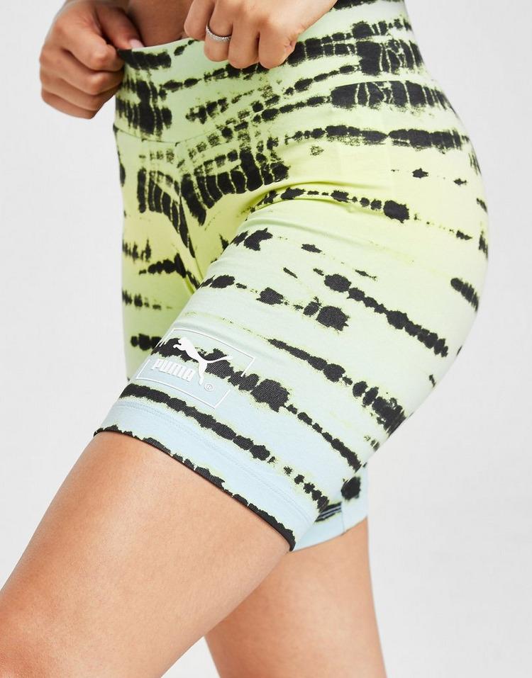 PUMA Tie Dye Cycle Shorts