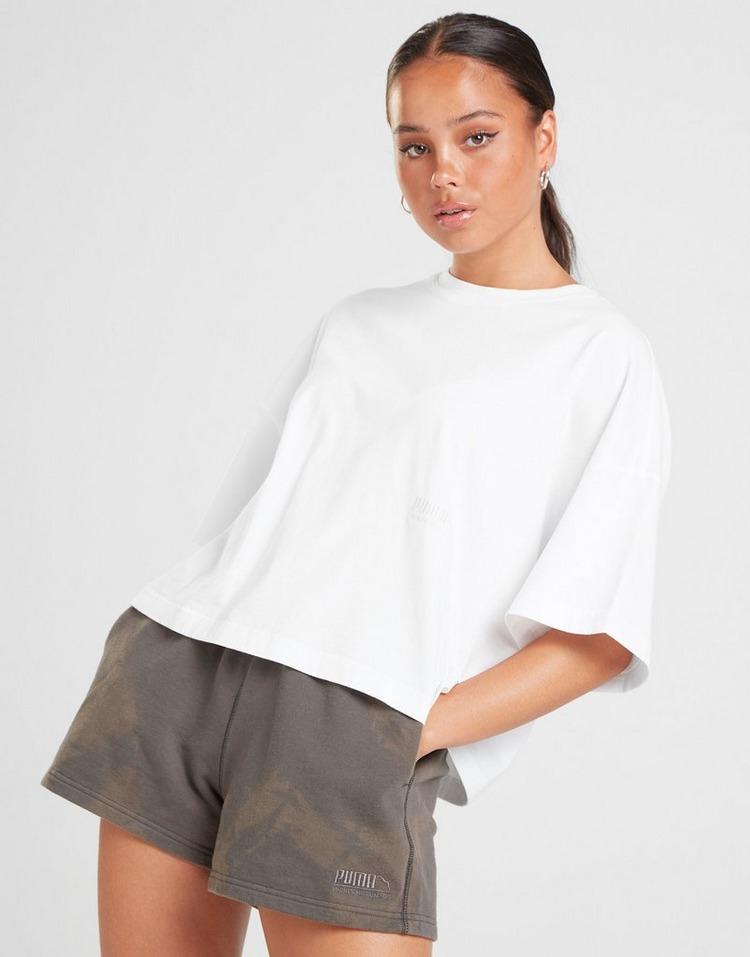 PUMA Washed Crop T-Shirt