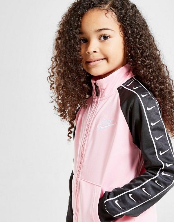 Nike Girls' Swoosh Tape Tracksuit Children
