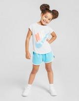 Nike conjunto Girls' Futura camiseta/pantalón corto infantil