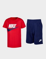 Nike Colour Block T-Shirt/Shorts Set Children