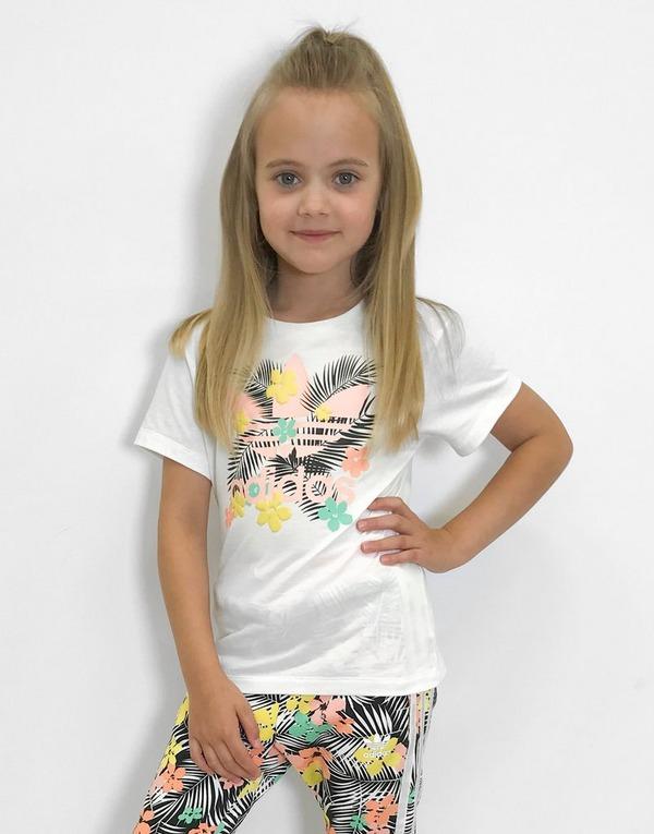 Shop den adidas Originals Print T Shirt Kleinkinder in Weiss