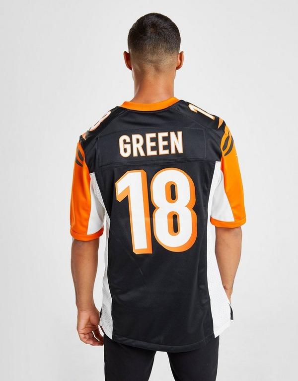 Nike NFL Cincinnati Bengals Green #18 Jersey