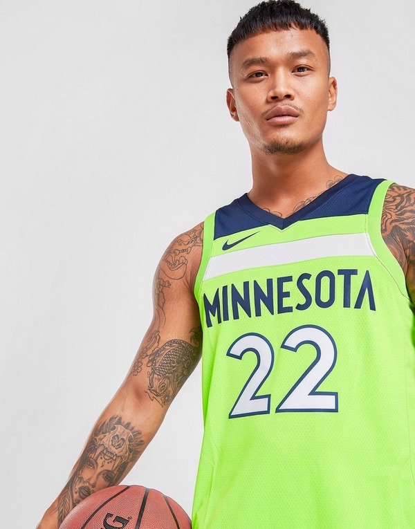 Buy Green Nike Nba Minnesota Timberwolves Wiggins 22 Sm Jersey