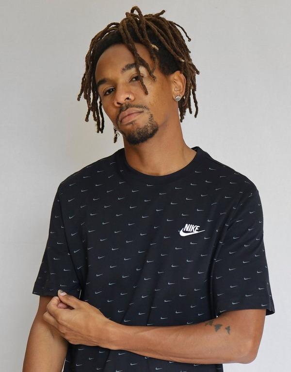 Nike All Over Print Swoosh T-Shirt Men's