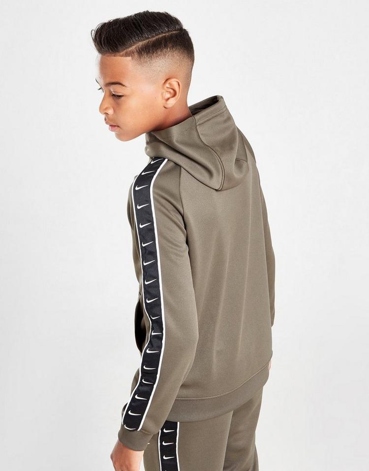 Nike Tape Poly Full Zip Hoodie Junior