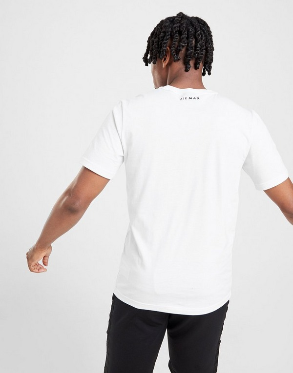 Koop Wit Nike Air Max Graphic T Shirt Heren | JD Sports