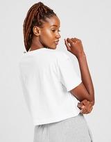 Nike Double Futura Logo Crop T-Shirt