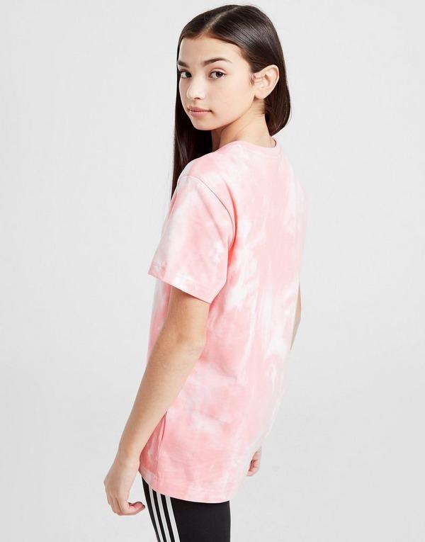 adidas Originals Girls' Tie Dye T-Shirt Junior