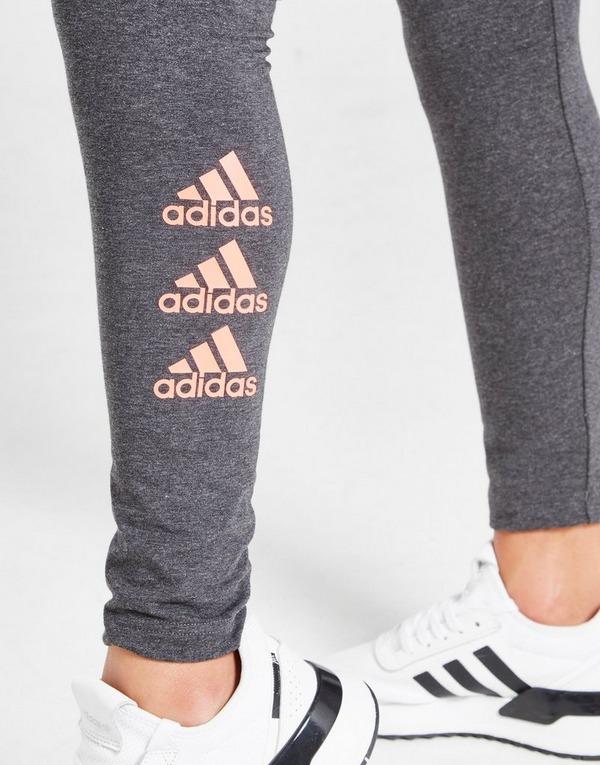 adidas Girls' Sport 3-Stripes Leggings Junior