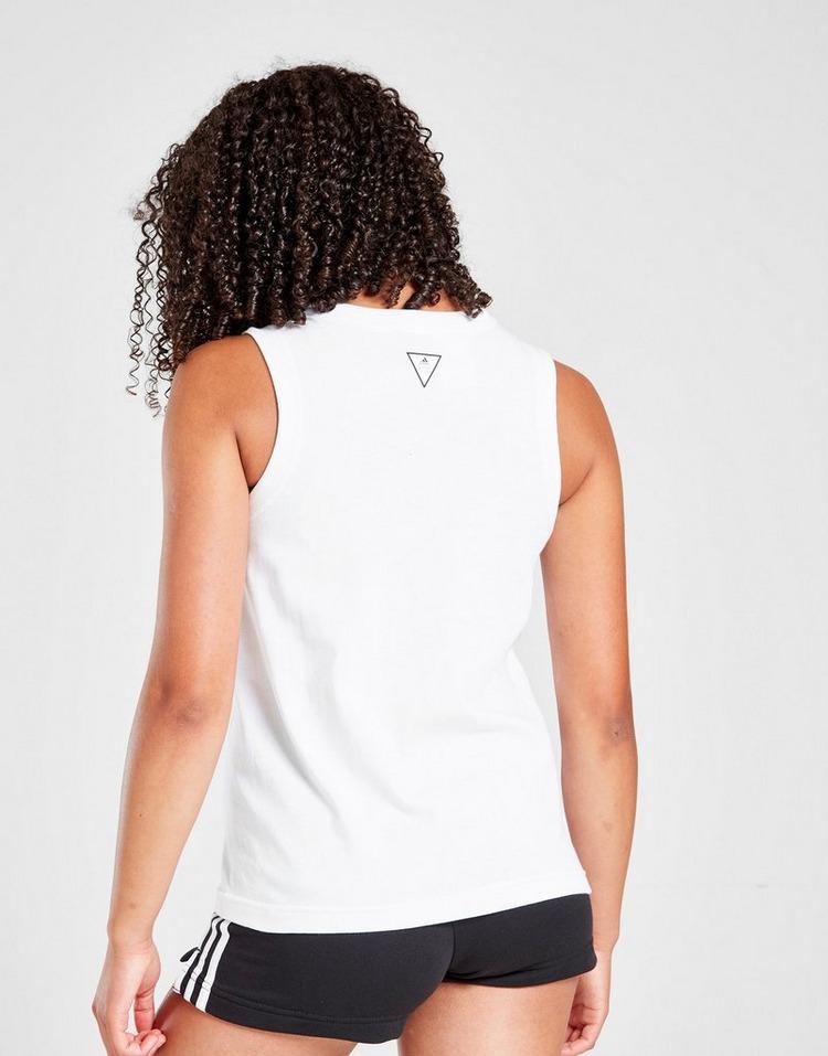 adidas Girls' Vest Top Junior
