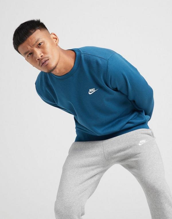 cepillo grande deslealtad  Buy Blue Nike Club Crew Sweatshirt
