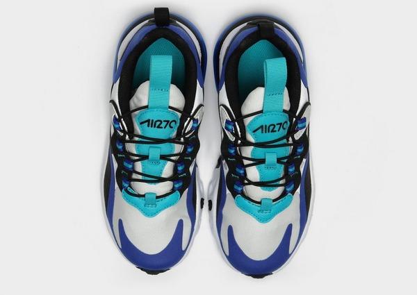 Shoppa Nike Air Max 270 React Barn i en Blå färg | JD Sports