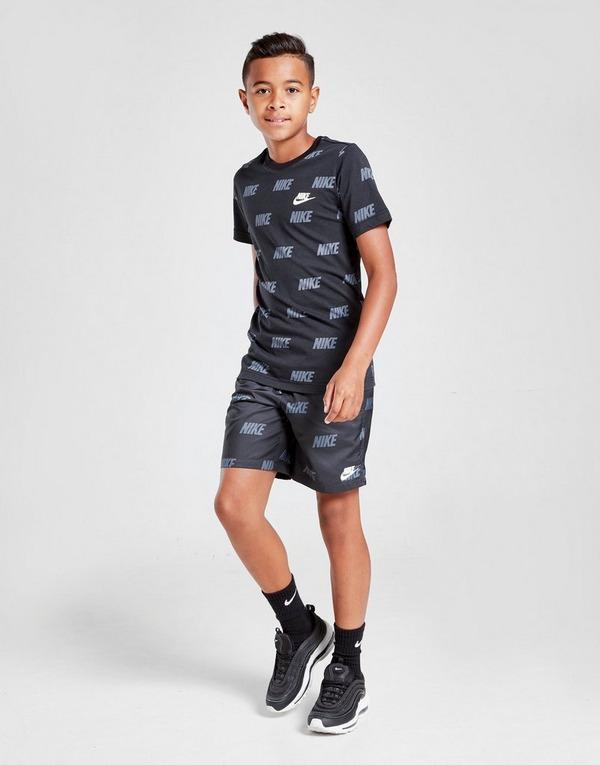 Nike Hybrid All Over Print Swim Shorts Junior