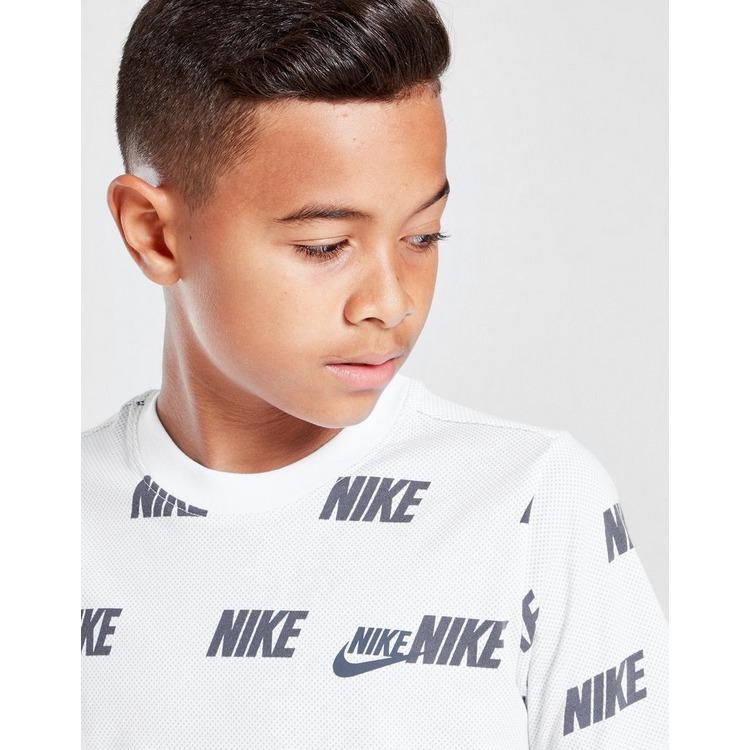 Nike Hybrid All Over Print T-Shirt Junior