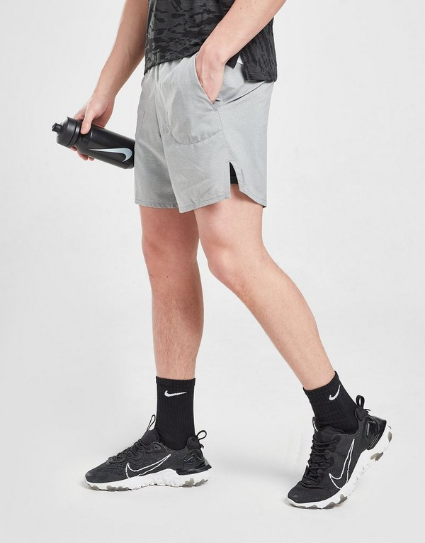 Docenas energía Inactividad  Buy Grey Nike Flex Stride 2 In 1 Running Shorts | JD Sports
