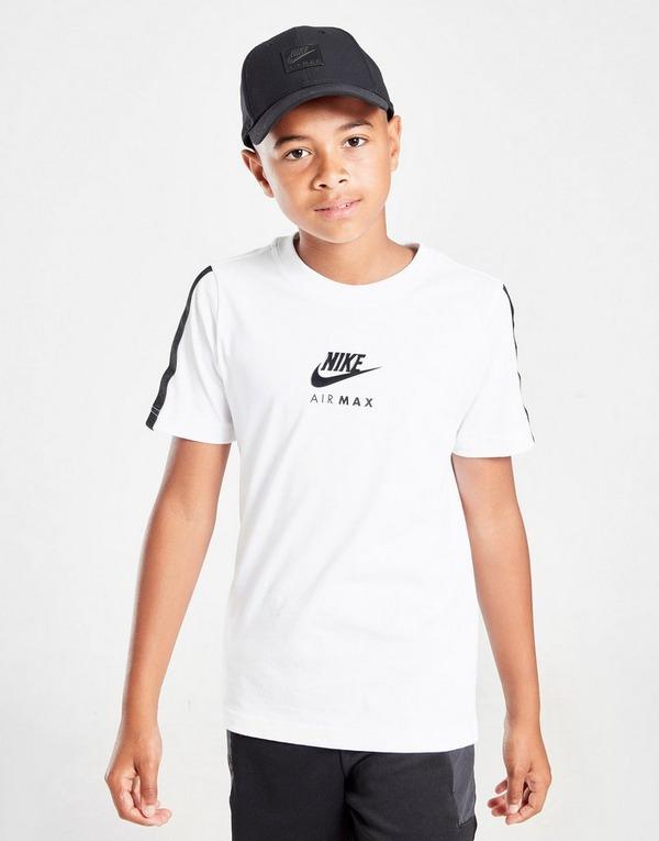 Acheter Black Nike T shirt Air Max Graphic Junior