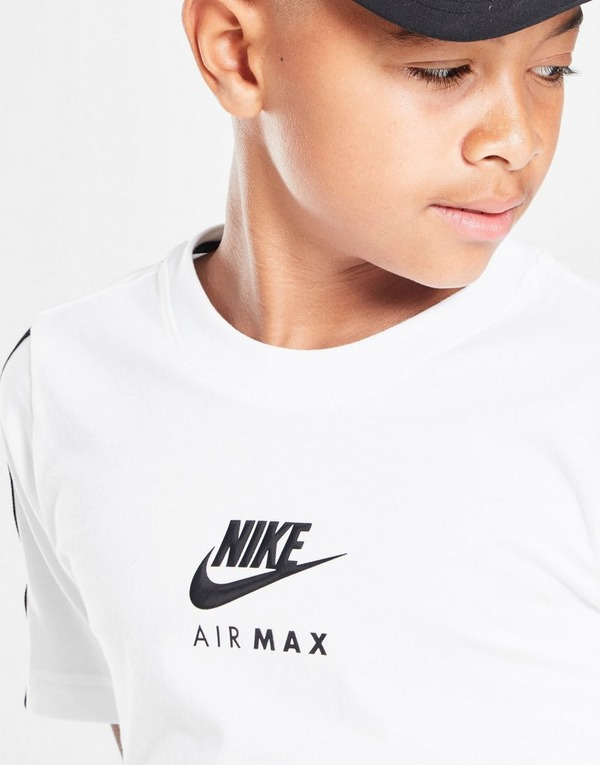 Koop Wit Nike Air Max Graphic T Shirt Junior | JD Sports