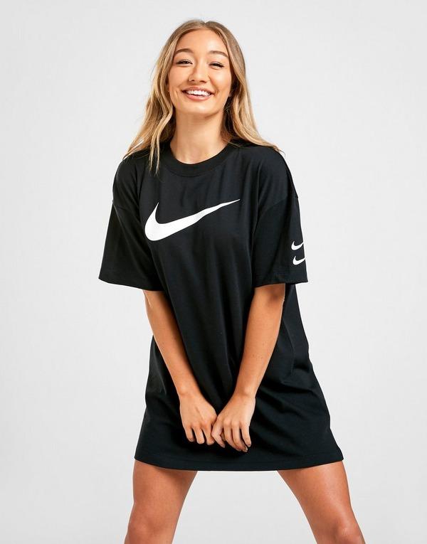 Acheter Black Nike T Shirt Robe Swoosh Femme