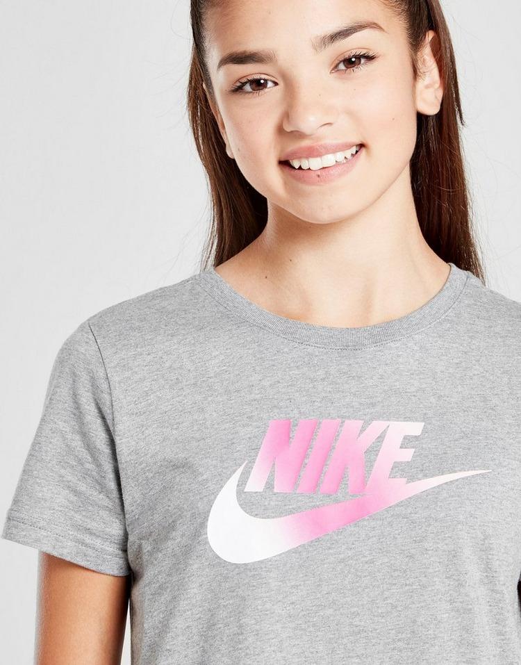 Shop den Nike Girls' Futura T-Shirt Kleid Kinder in Rosa