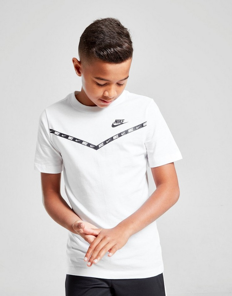 Buy White Nike Repeat Chevron T Shirt Junior Jd Sports