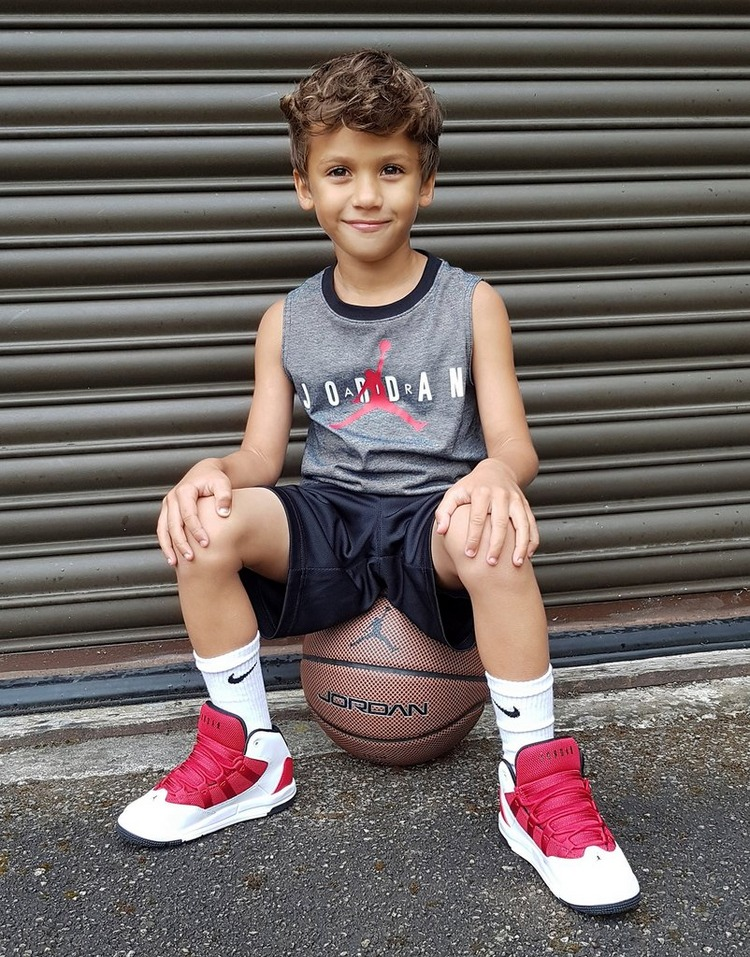 Jordan Half Court Vest/Shorts Set Children
