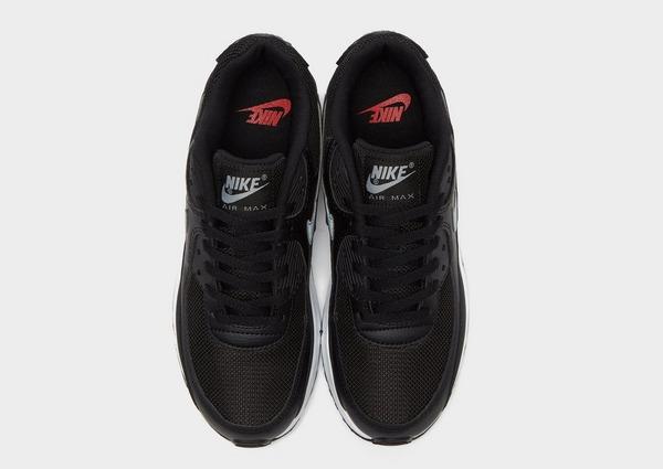 Shoppa Nike Air Max 90 Leather Junior i en Svart färg | JD