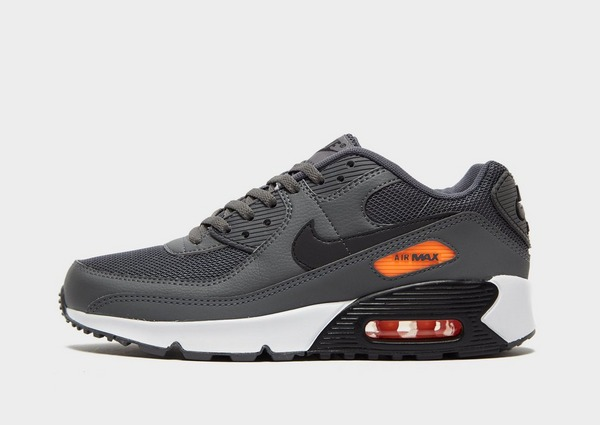 Acquista Nike Air Max 90 Leather Junior in Nero