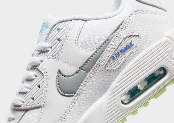 Koop Wit Nike Air Max 90 Leather Junior | JD Sports