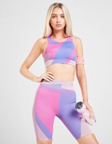 Nike Training Seamless Colour Block Cycle Shorts
