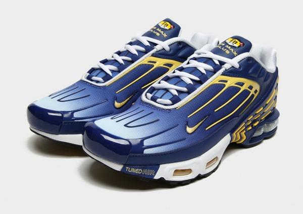 Acheter Blue Nike Baskets Air Max Plus III Homme