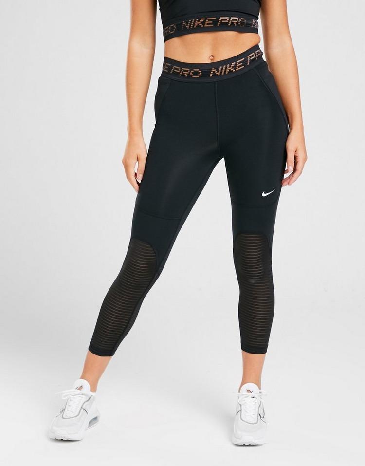 Nike Pro Training Mesh Crop Tights