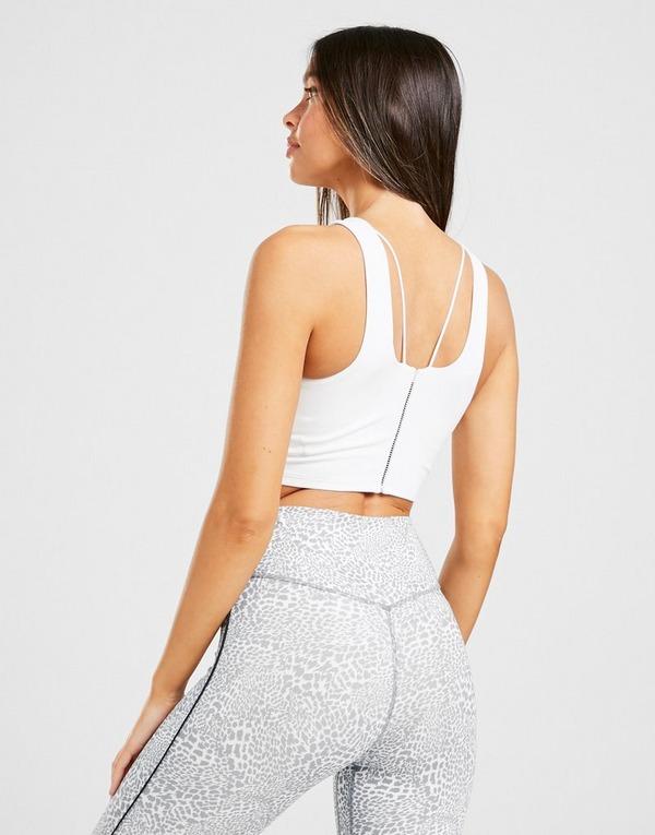 Nike Yoga Luxe Infinalon Cropped Tank Top