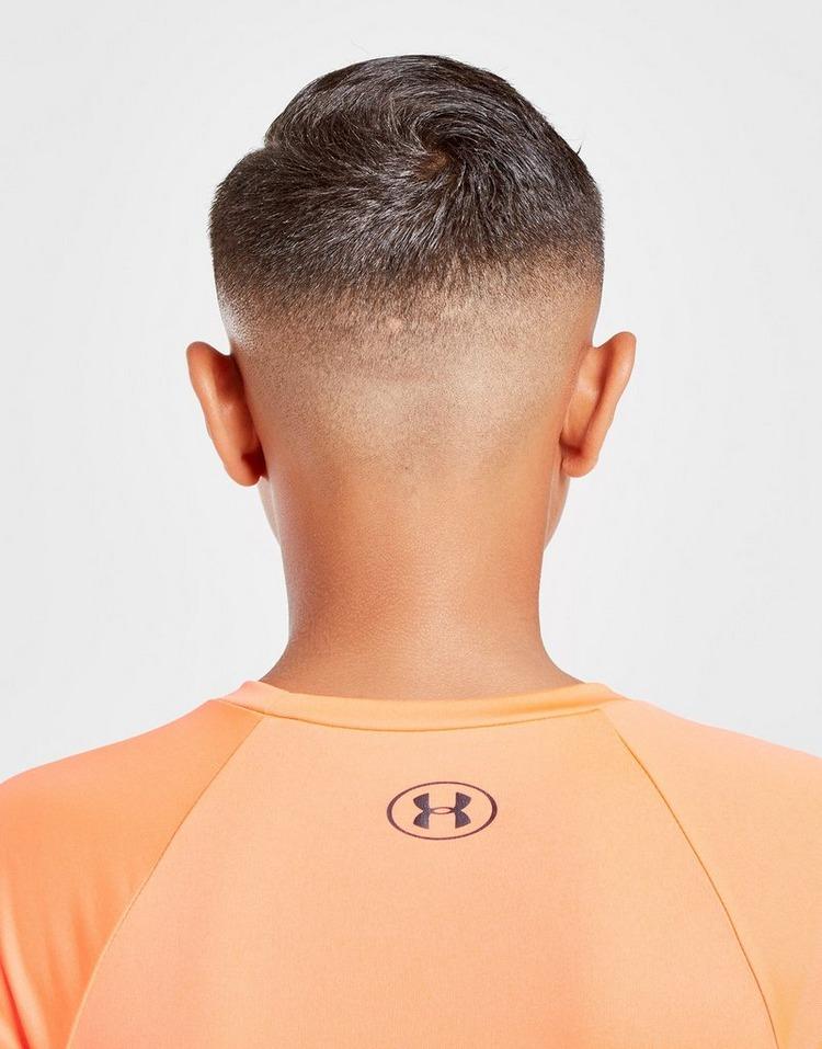 Under Armour Tech Hybrid Logo T-Shirt Junior