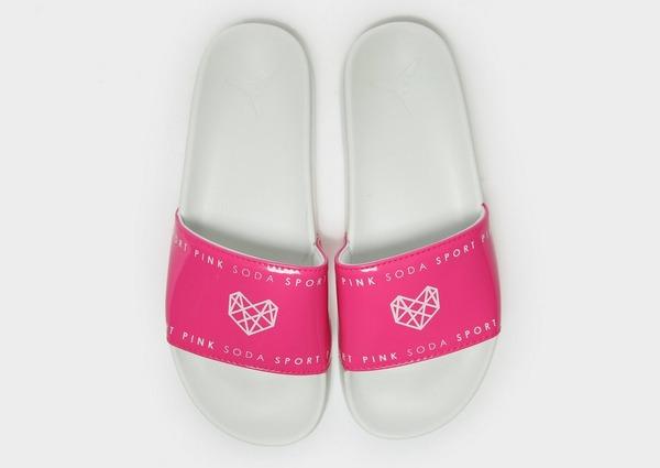 Pink Soda Sport Refresh Slides Women's
