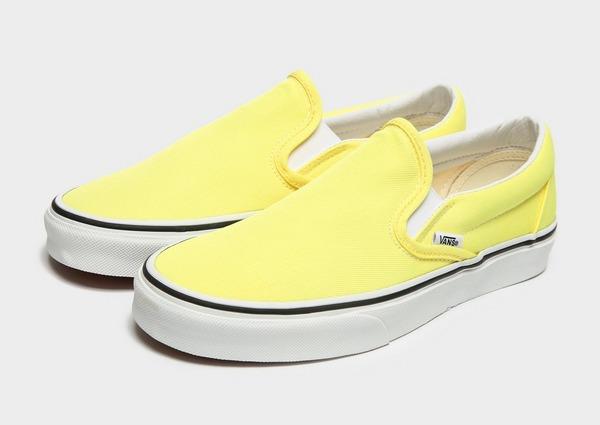 vans slip on femme jaune