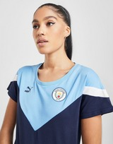 PUMA Manchester City FC Icon Short Sleeve T-Shirt