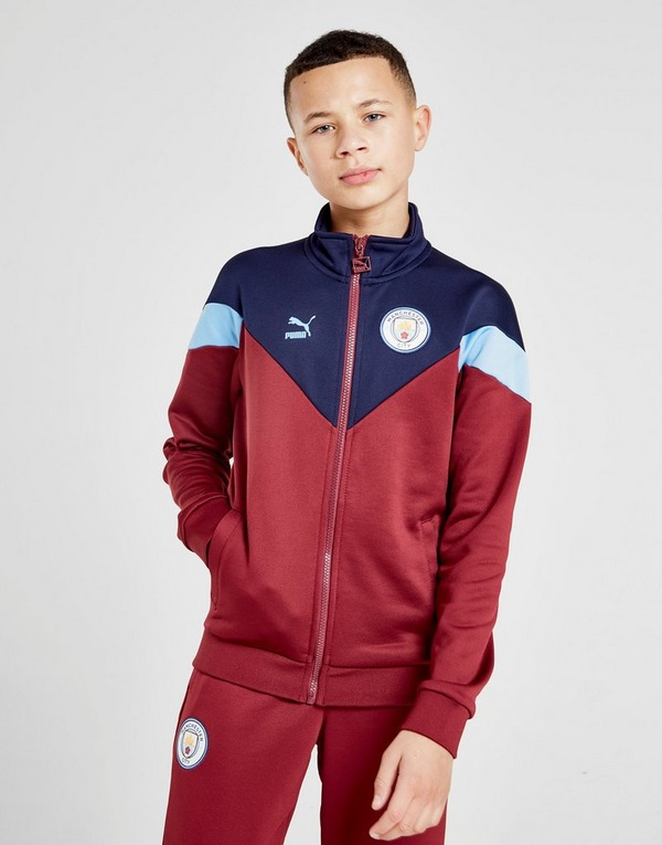 PUMA Manchester City FC Icon Track Jacket Junior