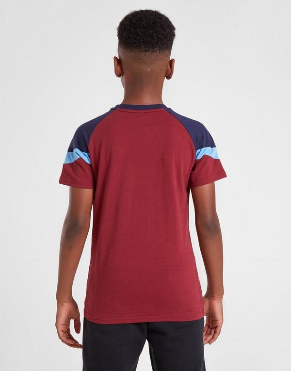 PUMA Manchester City Icon Short Sleeve T-Shirt Junior