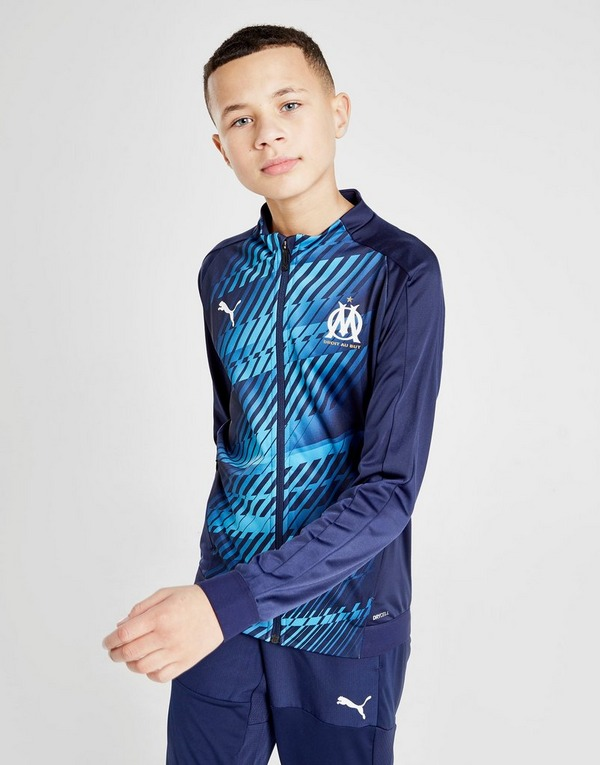 PUMA Olympique Marseille Stadium Jacket Junior