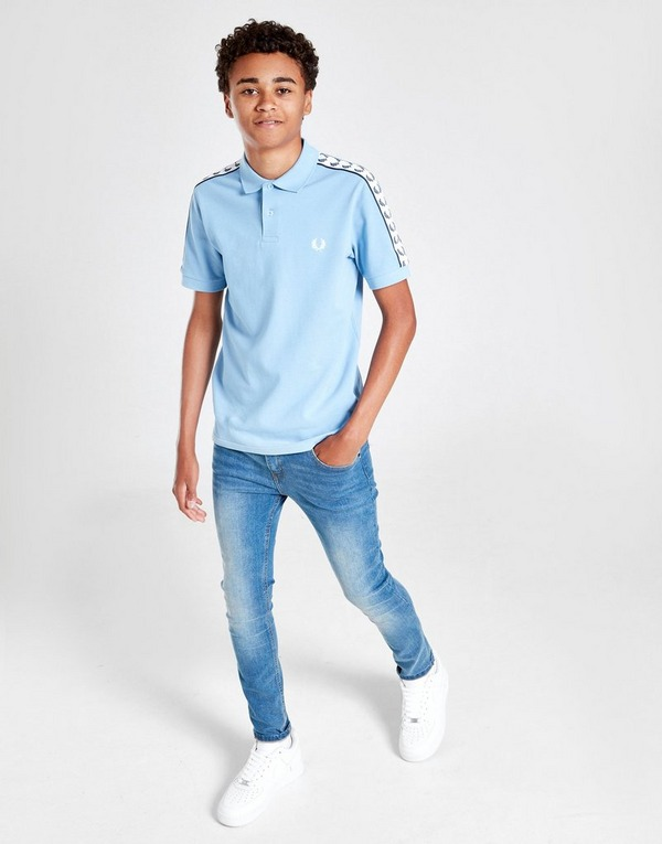 Fred Perry Tape Polo Shirt Junior