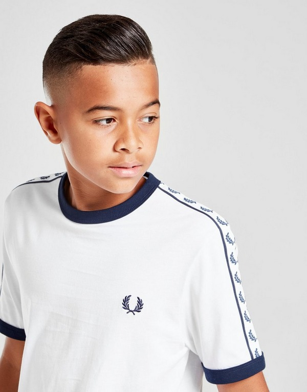 Fred Perry Taped Retro Rigner T-Shirt Junior