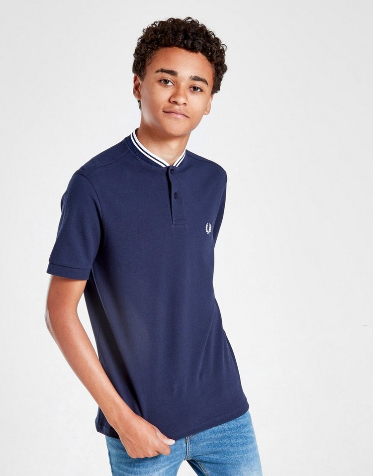 Fred Perry Bomber Collar Polo Shirt Junior