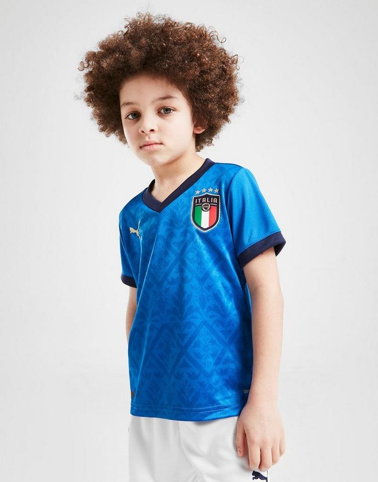 Puma Italy 2020 Home Kit Children