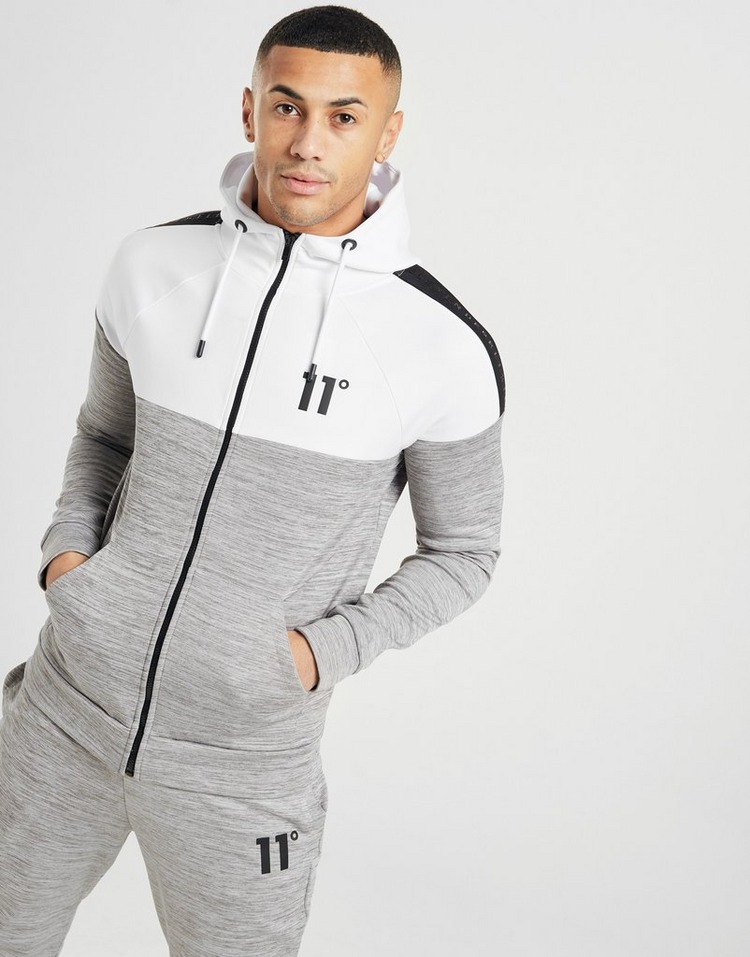 11 Degrees Tape Full Zip Poly Hoodie